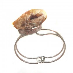Bracelete de Agata Botswana Drusa
