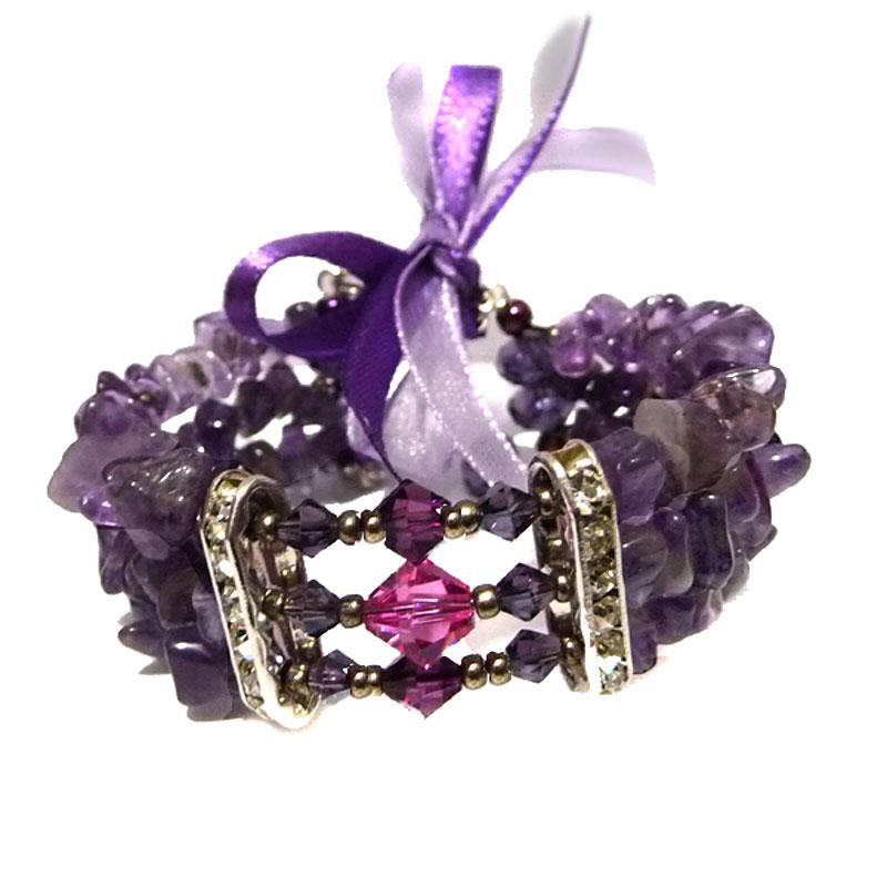 Bracelete Ametista Delphine