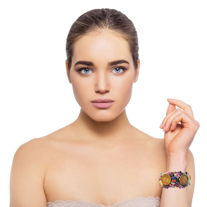 Bracelete Souvenirs Moedas