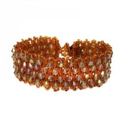 Bracelete Swarovski Amber Reagal