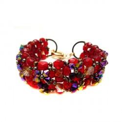 Bracelete Swarovski Vermelho